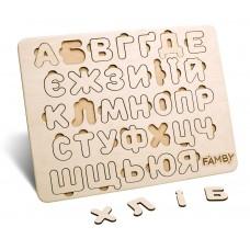 Деревянный алфавит Украинский язык (Famby)