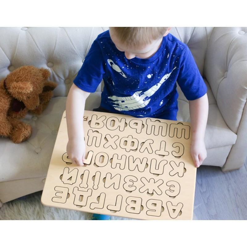 Деревянный алфавит Украинский язык (Famby) купить в ...