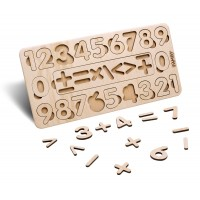 Деревянный Сортер Цифры (большой) Famby