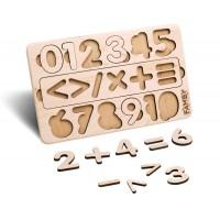Деревянный сортер Цифры (Famby)