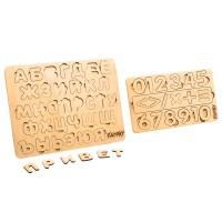 "Комплект ""Буквы и Цифры"" (Famby)"