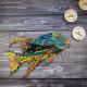 Деревянный фигурный пазл Светская Рыба