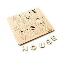 Алфавит английский - сортер (большой)