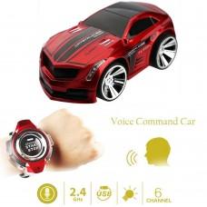 Машинка на голосовом управлении Smart watch