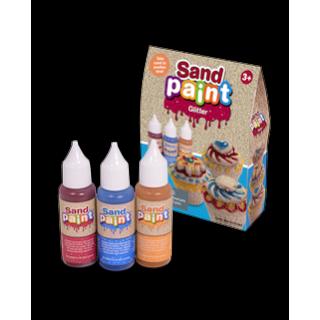 Краски для песка Sand Paint Glitter с блестками