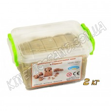 Кинетический песок 2 кг в контейнере