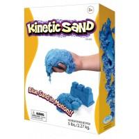 Цветной кинетический песок 2.3 кг (Синий)