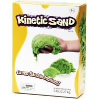 Цветной кинетический песок 2.3 кг (Зеленый)