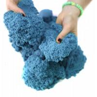 Кинетический песок 1 кг (Синий)