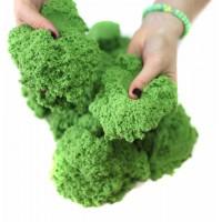 Кинетический песок 1 кг (Зеленый)