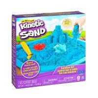 Кинетический песок набор Замок (Синий) 454г
