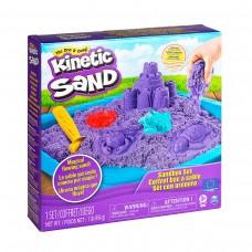 Кинетический песок набор Замок (Фиолетовый) 454г