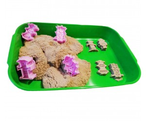 набор для игры с кинетическим песком