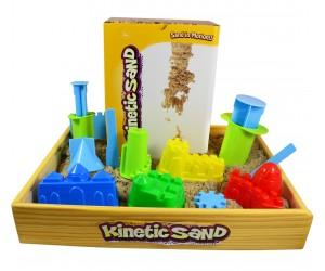 набор с деревянной песочницей