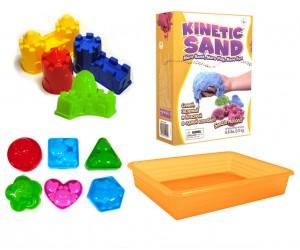 цветной кинетический песок набор