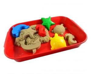дешевый набор с кинетическим песком