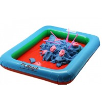 Надувная песочница для игры с песком
