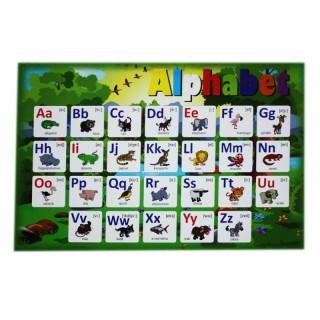 Столешница-алфавит для игры.