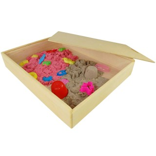 Песочница Деревянная 50х40х8.5 см