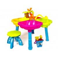 Детский столик-песочница