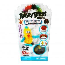 Конструктор-липучки Bunchems Angry Birds 52+