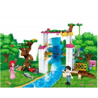 Конструктор JVToy Сад для принцессы 245+226 эл.