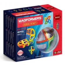 Magformers Базовый набор Curve (дуга) 40 элементов