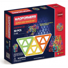 Magformers Супер Базовый набор, 30 эл.