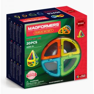 Magformers Базовый набор Curve (дуга) 20 элементов