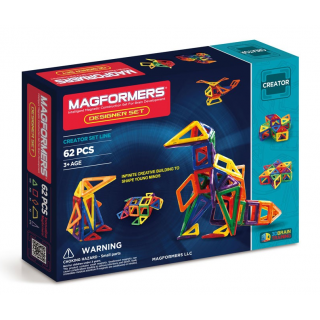 Magformers Designer Set, Дизайнер, 62 эл.