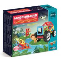 Magformers Jungle, Приключения в джунглях, 32 эл.