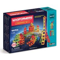 Magformers Landmark Set, Известные строения мира, 100 эл.
