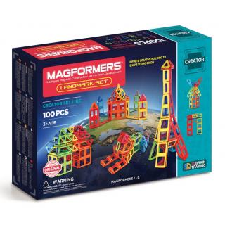 Magformers Landmark, Легенд. строения, 100 эл.