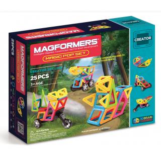 Magformers Magic Pop Set, Магический взрыв, 25 эл.