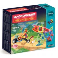 Magformers Mountain, Приключения в горах, 32 эл.