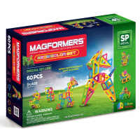 Magformers Neon Color Set, Неоновые цвета, 60 эл.