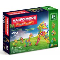Magformers Neon Color Set, Неоновые цвета, 60 эл.