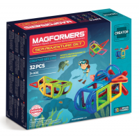 Magformers Sea Adventure Set, Морские приключения, 32 эл.