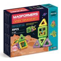 Magformers Space Traveler Set, Космические путешетсвия, 35 эл.