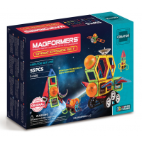 Magformers Space Episode Set, Космический эпизод, 55 эл.