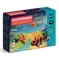 Magformers World Adventure, Кругосв. путешествие, 75 эл.