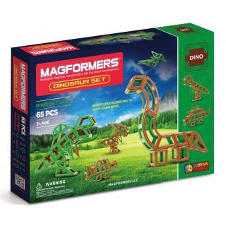 Magformers Dinosaur Set, Динозавры, 65 эл.