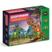 Magformers Walking Dinosaur Set, Оживший динозавр, 81 эл.