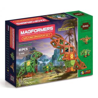 Magformers Walking Dinosaur, Оживший динозавр, 81 эл.