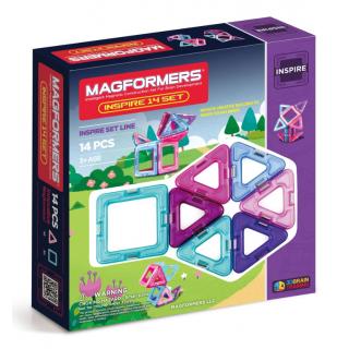 Magformers Inspire Set, Вдохновение, 14 эл.