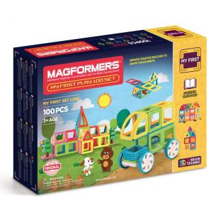 Magformers Мой Первый набор, 100 элементов