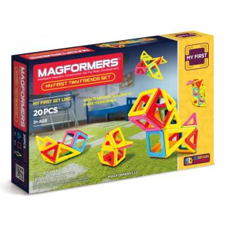 Magformers Tiny Friends, Маленькие Друзья, 20 эл.