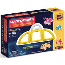 Magformers Мой первый желтый автомобиль, 14 эл.