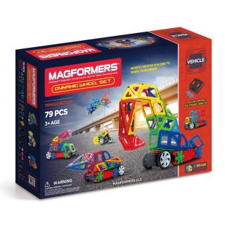 Magformers Dynamic Wheel, Динамические колеса, 79 эл.