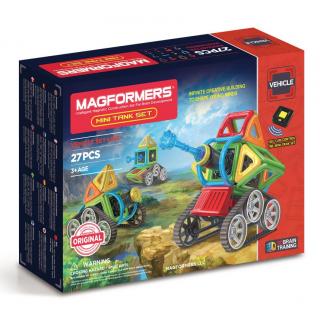 Magformers Mini Tank Set,  Мини танки, 27 эл.
